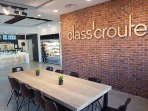 Salle de restaurant class'croute en franchise