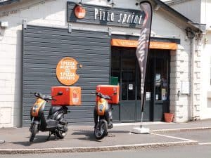 Restaurant franchisé Pizza Sprint livraison de pizzas