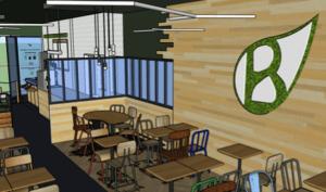 Restaurant en franchise à l'enseigne Bioburger