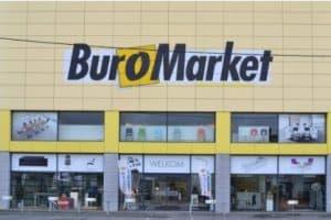 Magasin à l'enseigne Buro Market