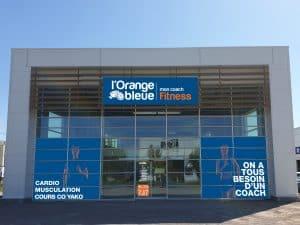 Salle de fitness à l'enseigne L'Orange Bleue à Aire sur la Lys (62)