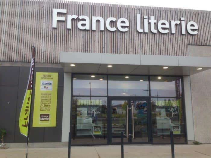FRANCE LITERIE – FACADE HAZEBROUCK- JANV2019