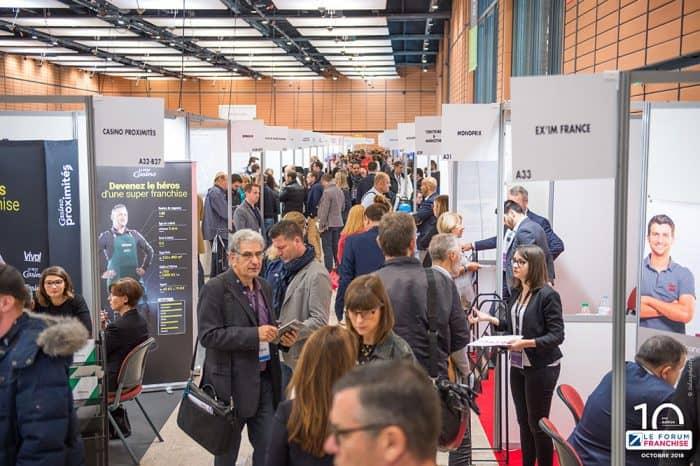 Salon Forum Franchise à Lyon le 4 octobre 2018