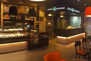 Boulangerie en franchise à l'enseigne Fischer à Guenande
