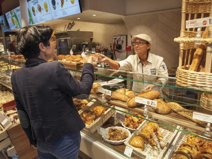 Boutique sous enseigne Brioche Dorée à Paris