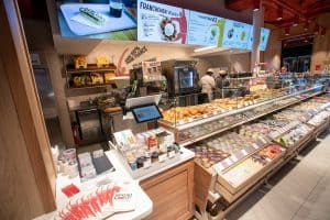Nouveau concept de la franchise de restauration rapide Brioche Dorée