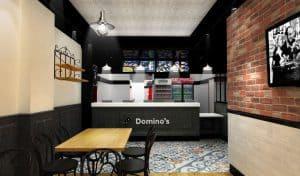 Restaurant franchisé Domino's Pizza à Paris 18ème