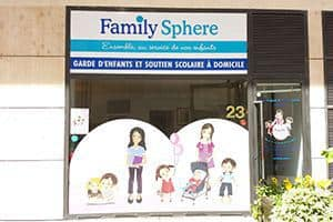 Agence franchisée de garde d'enfants Family Sphere à Courbevoie