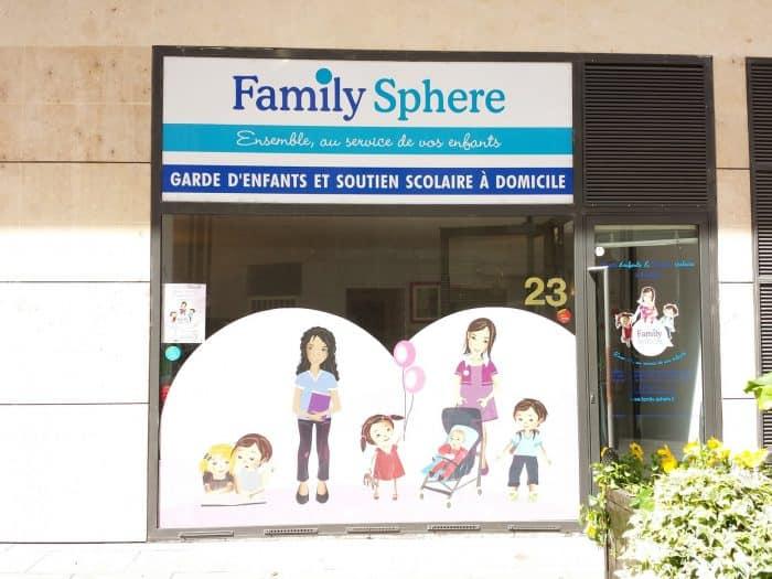 Agence Family Sphere, garde d'enfants à domicile en franchise