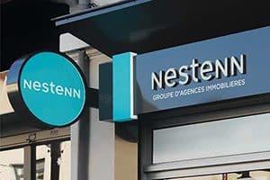 Agence immobilière à l'enseigne Nestenn