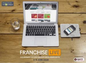 Événement en ligne Franchise Live 3-4 juin 2020