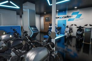 Magasin à l'enseigne Pure Rider à Paris 11ème