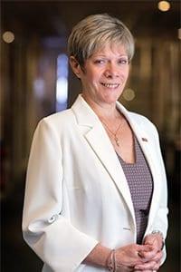 Christine Fumagalli, Présidente du réseau immobilier Orpi