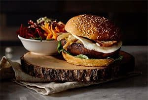 Franchise de restauration Copper Branch, burger végétal