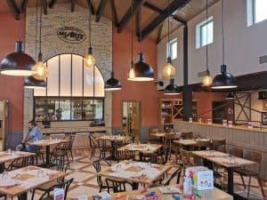 Restaurant franchisé à l'enseigne del Arte à Alès, dans le Gard