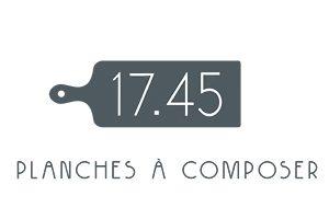 Logo de la franchise de restauration Le 17.45