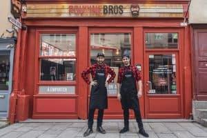 Restaurant à l'enseigne Poutinebros, nouveau concept en franchise