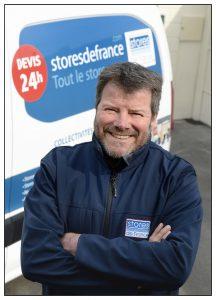 Portrait de Jean-Marc Desert, PDG de la franchise Stores de France