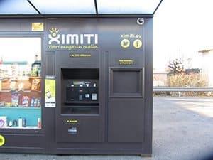 Distributeur automatique à Grenoble, licence de marque Ximiti