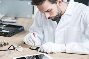 Franchise de réparation de smartphone