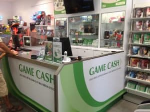 Game Cash – comptoir