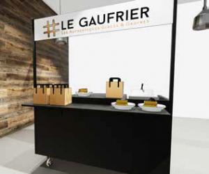 Kiosque Le Gaufrier