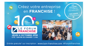 Forum Franchise de Lyon 4 octobre 2018