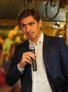 Michaël Cottin, Président de la franchise de restaurants La Pataterie