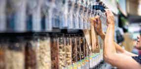 Nouveau concept magasin Intermarché, enseigne alimentaire du Groupement les Mousquetaires