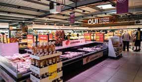 Nouveau concept magasin Netto, enseigne hard discount du Groupement les Mousquetaires