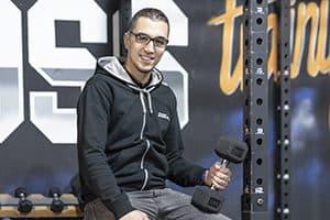 Ouassim Ben Hariz, multi-licencié L'Orange Bleue en région parisienne