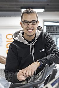 Ouassim Ben Hariz, franchisé L'Orange Bleue Mon Coach Fitness