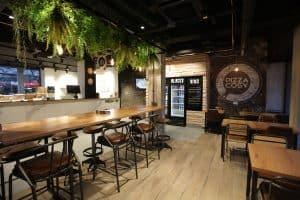 Restaurant en franchise à l'enseigne Pizza Cosy à Vienne