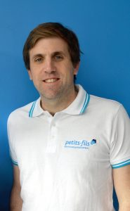Damien Tixier, co-fondateur de la franchise Petits-Fils