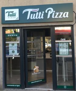 Restaurant franchisé à l'enseigne Tutti Pizza à Gimont dans le Gers