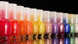 Vernis à ongles de couleurs