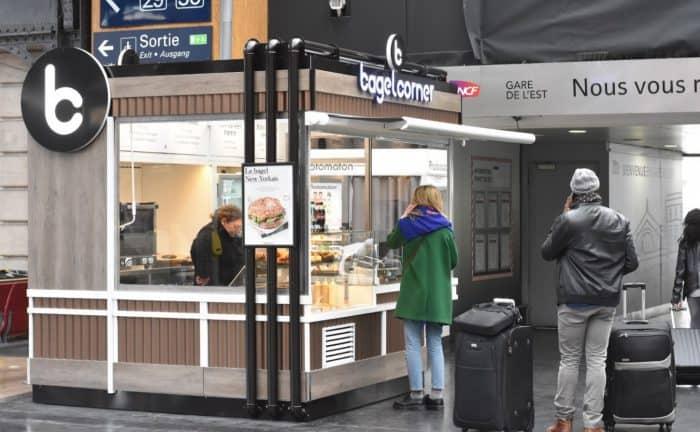 bagel corner – gare de l'est – 12nov2018