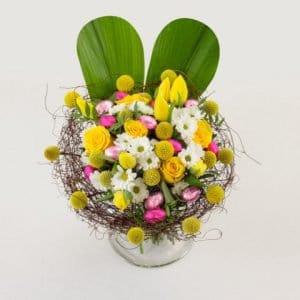 le jardin des fleurs offre bouquets et chocolats de p ques franchise magazine. Black Bedroom Furniture Sets. Home Design Ideas