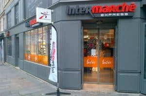 franchise-intermarche express- exterieur angle