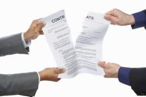 Ruprure contrat de franchise