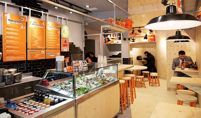 disposition restaurant Wok to Walk