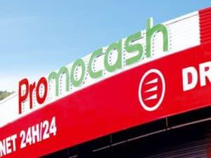Enseigne de magasin franchisé Promocash