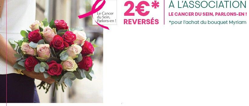 Octobre Rose – Le Jardin des Fleurs s\'engage contre le cancer