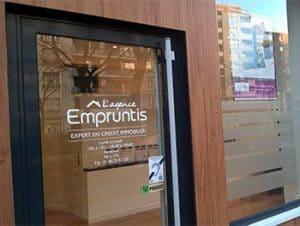 Agence franchisée de courtage en crédit Empruntis