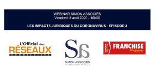 Webinar Simon Associés 3 avril 2020